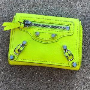 Balenciaga mini coin and card case